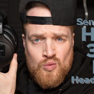 SENNHEISER HD300 PRO Headphones Unboxing, Review & Sound Comparison With Sonarworks.