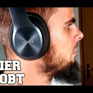 EDIFIER W820BT Headphones Review/Unboxing/Pairing/Test! Best buy 80Hours playback