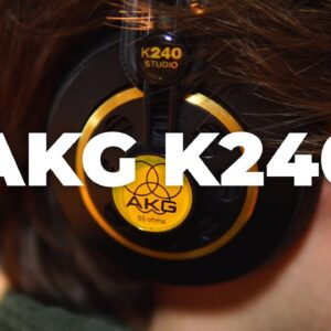 AKG K240 Studio Headphones Review (for Music Production)
