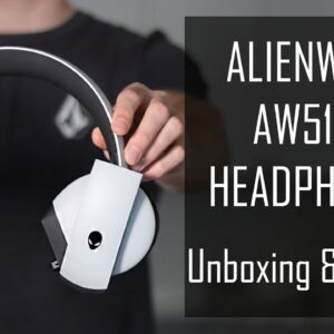 Alienware AW510H Headphones Unboxing & Review!