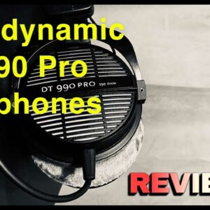 beyerdynamic DT-990 // PRO OPEN HEADPHONES REVIEW 2020