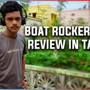 Boat rockerzz 450 headphones review in tamil