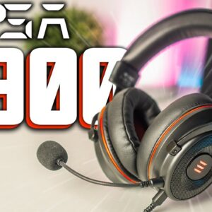 Eksa E900 Pro Gaming Headset Review and Mic Test