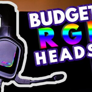 Onikuma K20 Gaming Headset Review (MIC TEST) RGB Budget Headphones Earphones Microphone Xbox PS4 PS3