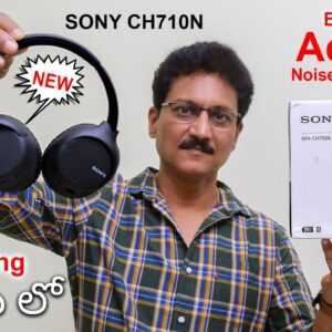 Sony WH-CH710N Active Noise Cancelling Wireless Headphones Review in Telugu... 🔥