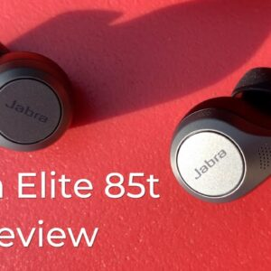 Jabra Elite 85t Noise Cancelling Headphones Review