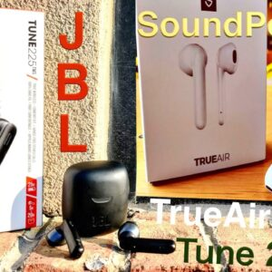 JBL TUNE 225 VS SoundPeats TrueAir