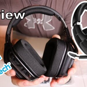 Logitech G635 gaming headset review and mic test