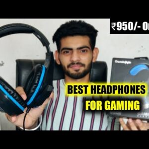 Best Headphones For Gaming - Cosmic Byte GS410/GS420 Headphones Honest Review!🔥