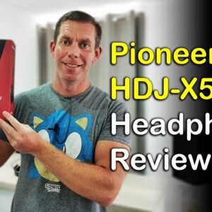Pioneer HDJ-X5 Headphones Review