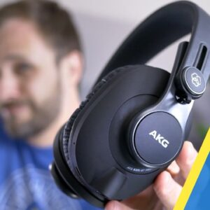REVIEW! AKG K371-BT - Rollercoaster