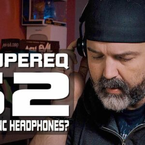 Review SuperEQ S2 ANC Headphones | Best ANC Headphones for Under $40