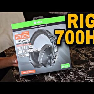 RIG 700 HX BEST GAMING HEADPHONES REVIEW