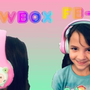 Riwbox FB-7S Bluetooth Wireless LED Cute Kids Headphones Review