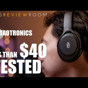 Taotronics BH-085 Active Noise Cancelling Headphones for $37!? - REVIEW