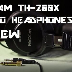 Tascam TH-200X Headphones REVIEW