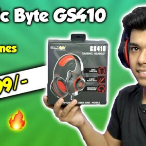 Cosmic Byte GS410 GAMING Headphones Review | Best Gaming Headphones under Rs 1000?