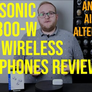Panasonic RZ-S300-W true wireless headphones review - a real alternative to Apple's AirPods??