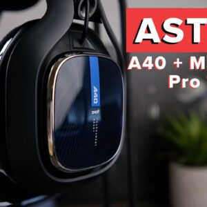 Astro A40 Headset with MixAmp Pro TR System Review - Do you really need the MixAmp?