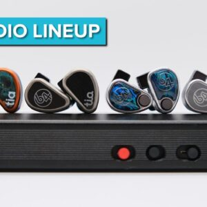 64 Audio IEM Shootout - Nio, U12t, Tia Trio, U18t, Tia Fourte