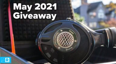 We're giving away a $4000 headphone for the month of May!
