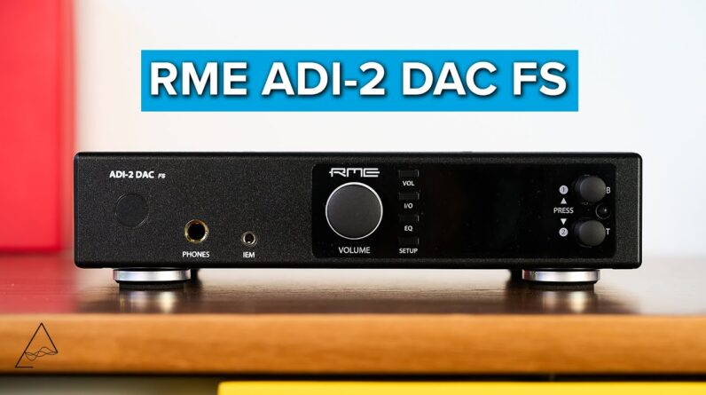 RME ADI-2 DAC FS Review - Extreme utility in a DAC/Amp combo
