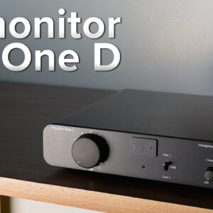SPL Phonitor One D Review - $700 DAC/Amp combo