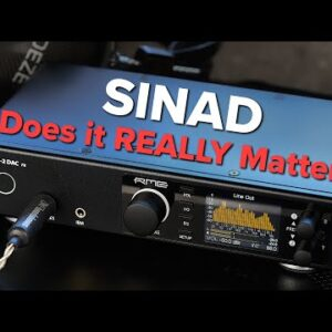 Evaluating SINAD - Why it's NOT important